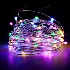 5M 50 LEDs Colorful RGB Fairy Lights USB Operated Wire Light String lamp Party
