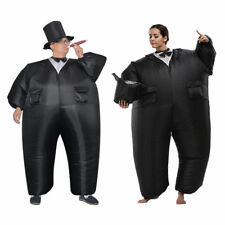 Adult Inflatable Costume Tuxedo Groom Suit Party Tux Fancy Dress Clothes Outfit