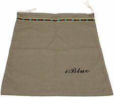 3 Pieces Cotton Travel Shoe Bag Drawstring Storage Organizer Pouch Green New