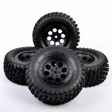 4Pcs Short Course 12mm Hex Tires Wheel Rim For RC 1:10 TRAXXAS SLASH HPI Truck
