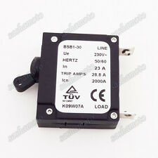 230V 23A In Generator Circuit Breaker 28.8A Trip Amps 2000A BSB1-30 HERTZ 50/60
