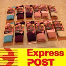 12 Pairs Quality Ladies Fashion Merino Lambs Wool Socks Warm Comfy AU Stock