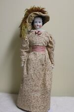 "Beautiful 16"" Antique China Head Doll from 1800's"