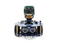 AlphaBot2 robot building kit for Raspberry Pi Zero W (built-in WiFi) Camera, etc