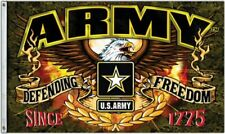 United States Army Defending Freedom 3 X 5 Foot Flag Us Usa Decoration New
