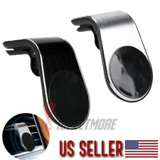 US Magnetic Air Vent Mount Car Phone Holder Universal Cellphone (Sliver, Black)