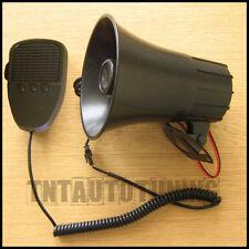 Auto Sirene mit Mikrofon Ansager 3 Klang Hupe Signalhorn Alarm 300dB 60W 12V KFZ