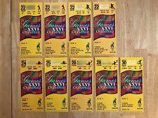 LOT of 9 -  1996 Atlanta Olympics tickets. Various sports