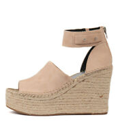 New Dolce Vita Straw Womens Shoes Casual Sandals Heeled