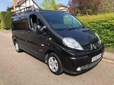 renault traffic van sport black with alloys low miles long mot NO VAT NO VAT