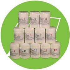 SCHÜSSLER SALZE SET 1 (1-12) 12 x 200 Tabletten glutenfrei  PZN 08000353