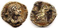 Roma-Adriano. Denario (119-125 d.C.). Roma. plata 3,2 g. Muy bonita