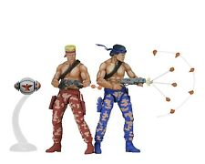 "Contra - 7"" Scale Action Figures - 2 Pack - Bill and Lance - NECA"