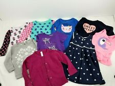 GIRL 18 Months  CLOTHES LOT Shirts Tops Dress lot of 9
