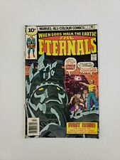 Marvel Comics When Gods Walk The Earth The Eternals #1 July 1976 Jack Kirby 1St