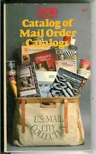 CATALOG OF MAIL ORDER CATALOGS, rare US Ventura shop & sell pulp vintage pb