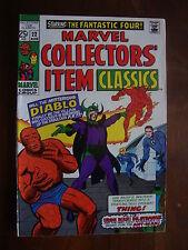 Marvel Collectors' Item Classics #22 F/VF Diablo