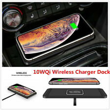 10W Car Qi Wireless Charger Dock Silicone Charging Mat For iPhone X R Samsung
