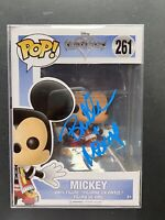 Mickey Mouse Disney Kingdom Hearts Funko Pop Signed/Autographed Bret Iwan COA