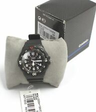 Men's CASIO MRW-200H Black Resin Band Sports Day/Date Wristwatch  - S31