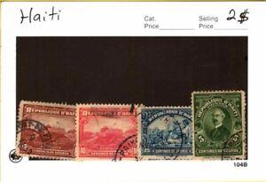 Haiti - Used stamps