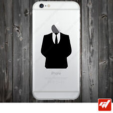 Sticker Autocollant Apple Iphone 4 5 6  Lot de 2X - COSTARD ANONYMOUS STYLE IPH5