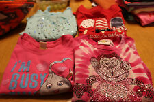 4 Girls Tee's Sz. 4, Gymboree Red Shirt, Jumping Beans Tourq. Shirt, Kavio Pink