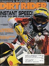 DIRT RIDER - August 2001 - Travis Pastrana / 125 & 250 Nationals / Yamaha YZ85