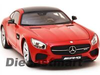 MERCEDES AMG GT RED EXCLUSIVE EDITION 1:18 DIECAST MODEL CAR BY MAISTO 38131
