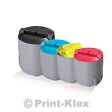 4x Extra XXL toner cartridge for Samsung CLP300 N Printer Cartridge