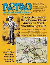 NEMO: CLASSIC COMICS LIBRARY #16 DEC 1985 MARK TWAIN HUCK FINN GEORGE HERRIMAN