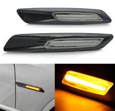 2x LED Side Marker Turn Signal Light for BMW E81/E82/E88/F30/E90/E91/E92/E60/E61