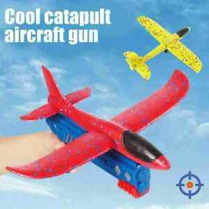 Airplane Launcher Toy Catapult Plane Gun Outside Flying Launcher Toy HOT Sell
