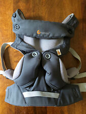 Ergobaby Four Position 360 Cool Air Carbon Grey