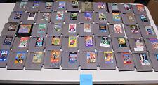 Lot of 50 Original Nintendo Nes Games Mega Man 1, 4, 6, Bubble Bobble, Zelda