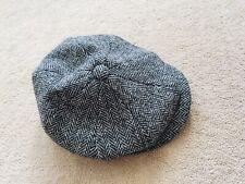 Harris Tweed 100% Wool Flat Cap 58cm