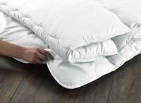 Hotel Quality Luxury Microfibre Mattress Topper Protector