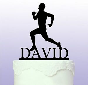Personalised Running - Marathon Runner Acrylic