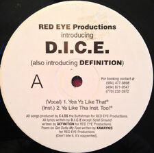 """Red Eye Productions Introducing D.I.C.E. (Also Introducing Definition) Vinyl,12"""""""