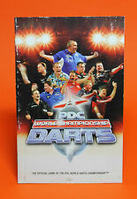 INSTRUCTION BOOKLET FOR PDC WORLD CHAMPIONSHIP DARTS PS2 (NO GAME) 😎OZ SELLER