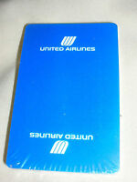 United Airlines New Complete Deck of Cards Airplane Flying