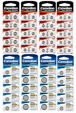 Camelion Arcas Coin Cell Watch Camera Battery Button Batteries Alkaline/ Lithium