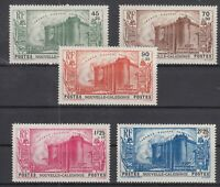 Bi6281/ FRENCH NEW CALEDONIA – Y&T # 175 / 179 COMPLETE MINT MH – CV 125 $