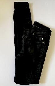 Rick Owens DRKSHDW Tyrone Cut Black Jeans  Sz 26 Italy Free Shipping Offer