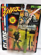 MOC Hasbro Toy GI JOE Action Figure SGT Savage COMBAT Shooting Cannon 81031