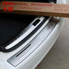 FIT FOR Honda Accord 2014-2016 Stainless Steel Rear Bumper Sill plate cover