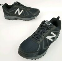 Mens NEW BALANCE 410v5 Black Trail Running Shoes All Terrain Sz 8 Extra Wide 4E