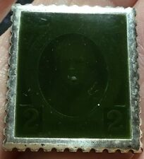 .925 Silver MC 1929 Ireland Ingot Stamp - Very Dark - 9.5 gm