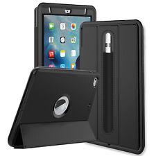 "Apple iPad Pro 10.5"" 11"" iPad 7 10.2"" Air Leather Smart Case Cove Pencil Holder"