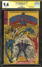 Fantastic Four #59 CGC 9.4 NM Signed 2x STAN LEE & JOE SINNOTT German Edition